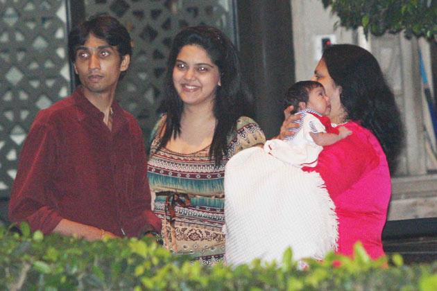 Kareena Kapoor And Ranbir With Childhood