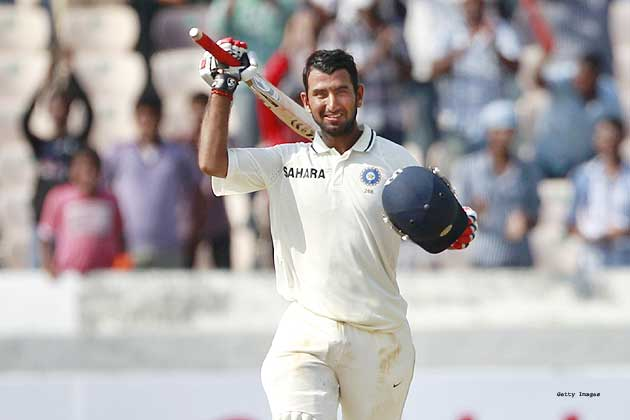 The 24-year-old outdid his unbeaten 206 last week with a splendid century on a trick pitch where his far more illustrious team-mates came a cropper.