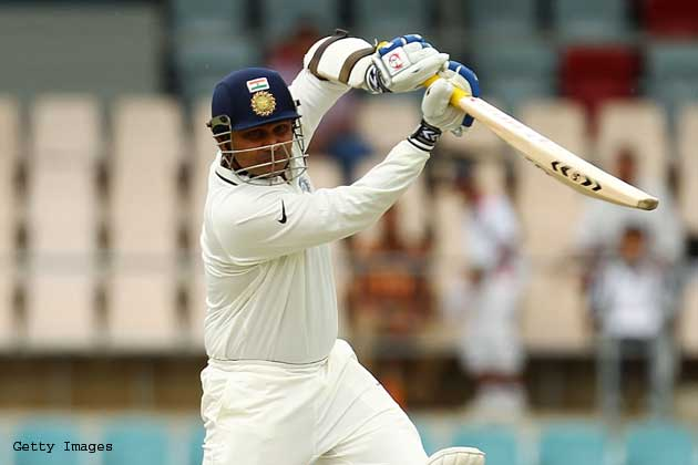 A look at Virender Sehwag's illustrious Test career as he approaches the milestone of 100th Test.