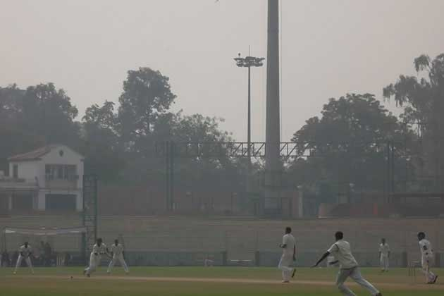 After bowling out J&K for 85, the hosts finished day one on 150 for 6 in New Delhi.