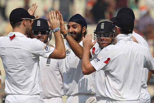 England dismantled India by seven wickets in the 3rd Test at Kolkata to take 2-1 lead in the four-Test series.