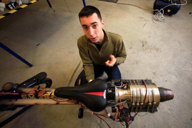 Модель турбореактивного двигателя своими руками 98