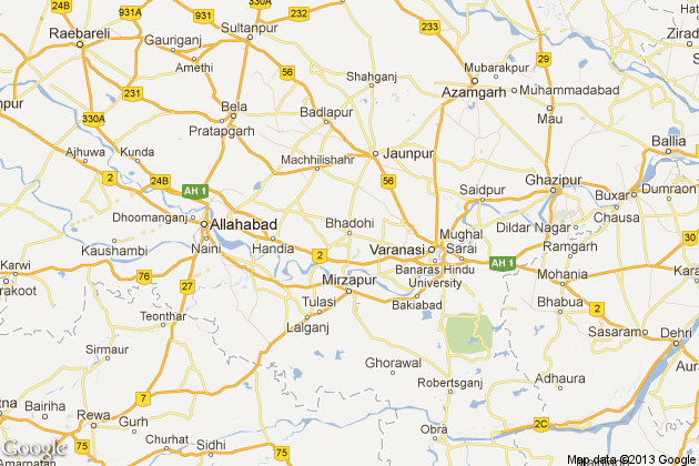Bhadohi Cattle smugglers hit police vehicle chasing them cop