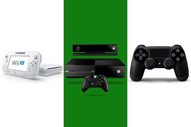 Xbox 1 Vs Ps4 Vs Wii U Microsoft Xbox One vs ...