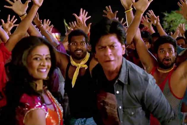 Shah rukh khan grooves like a professional dancer in for 1234 get on the dance floor hd video