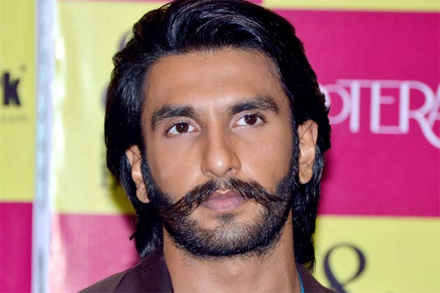 ranveer singh hopes his moustache proves lucky for him