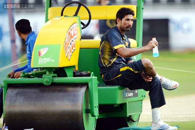 Pakistan Tanvir fined 10 per cent of match fee