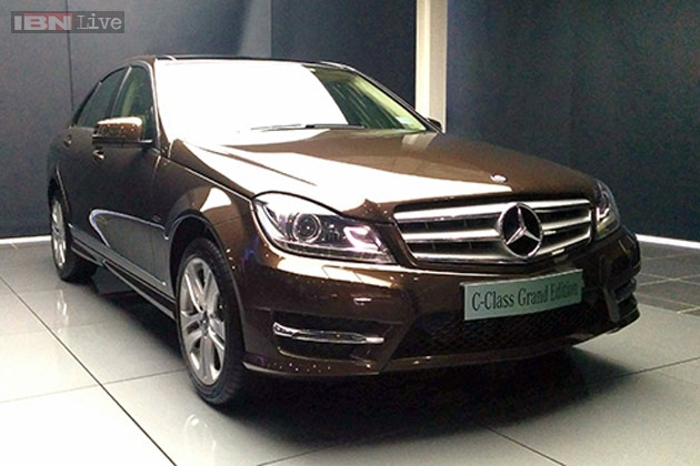 Mercedes benz c class grand edition launched in india at for Mercedes benz c class colours