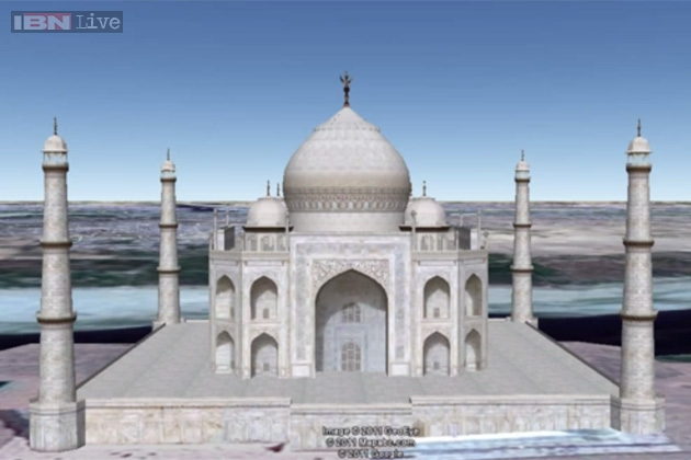 This Video Of A Virtual 3D Tour Of The Taj Mahal Using