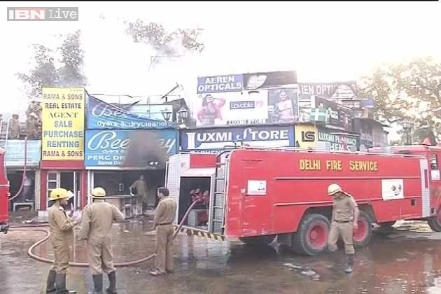 in Bengali Market Fire