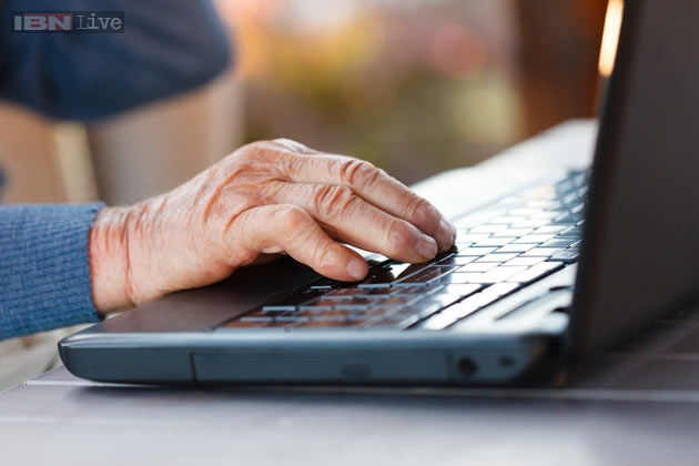 Elderly Using The Internet Internet Use Can Ward Off