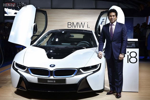 Celebrities At 2016 Auto Expo Sachin Tendulkar Ranbir: BMW To Focus On High-end Models In India; Plans To Bring