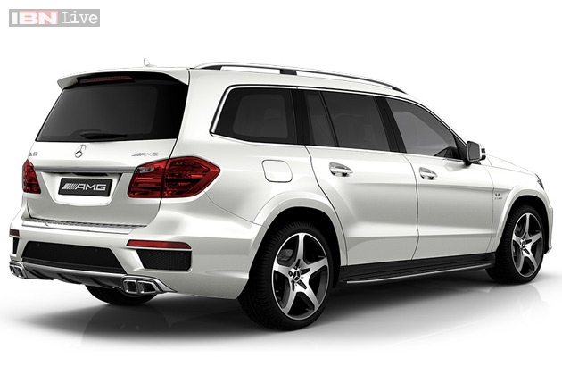 MercedesBenz launches GL 63 AMG luxury SUV in India at Rs 166