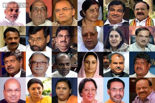 Modi Cabinet: List of ministers with portfolios:News18 Videos