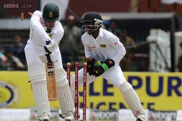 Sri Lanka's Test debutant Dickwella fined