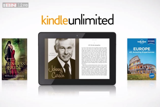 amazon launches kindle unlimited e book subscription plan