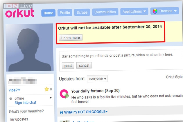 Image gallery orkut sign up account Google sites sign in
