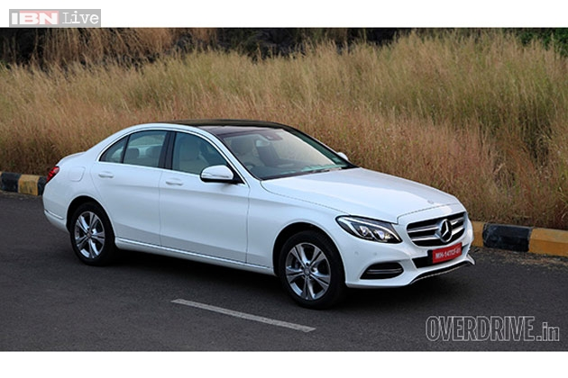 first impressions the rs 40 9 lakh new mercedes benz c class