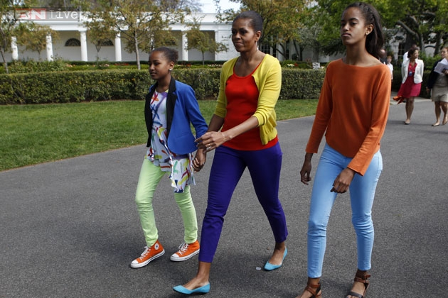 ... Why Sasha and Malia Ann are as stylish as their mother Michelle Obama
