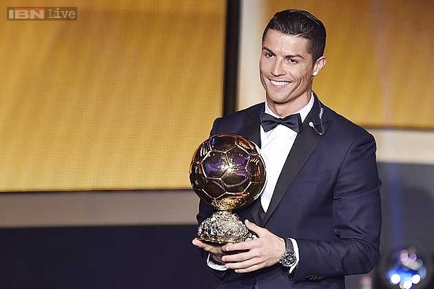 Image result for ronaldo ballon d'or