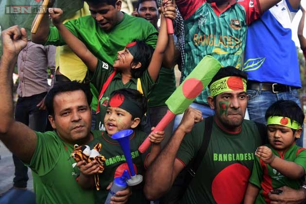 Watch: Bangladesh erupts in joy after dumping England out of World Cup