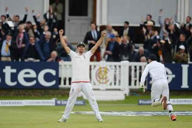 Speechless Alastair Cook hails 'brilliant' England victory