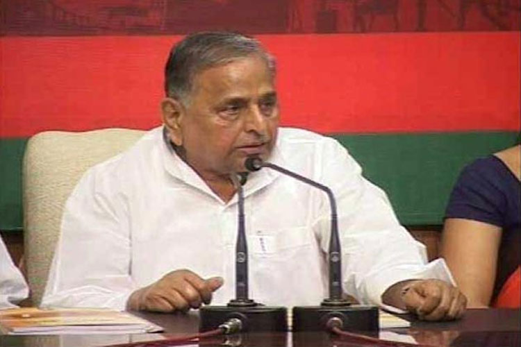A file picture of Mulayam Singh Yadav.