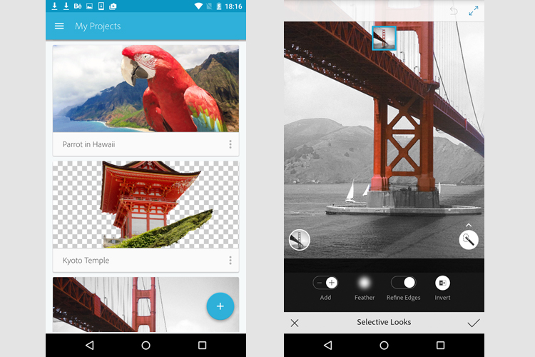 Adobe launches new free Photoshop app for Android