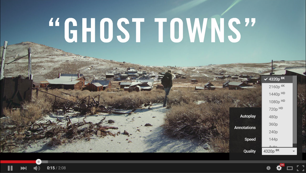 Ghost Town in 8K