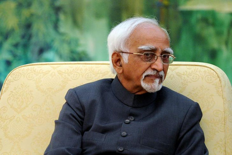 RSS slams Hamid Ansari, says if Muslims want to be treated equally, they should demand