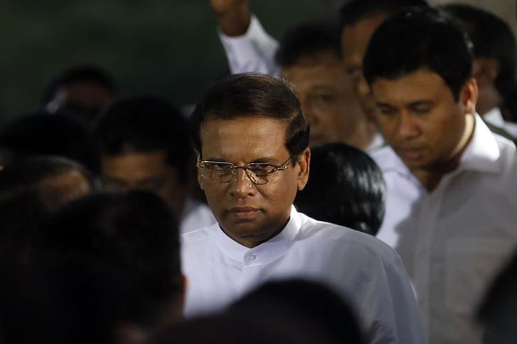I would do everything to protect January mandate:  Srilankan President Maithripala