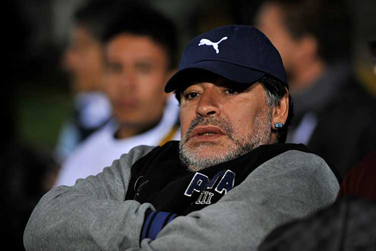 File Image of Diego Maradona.  (Getty Images)