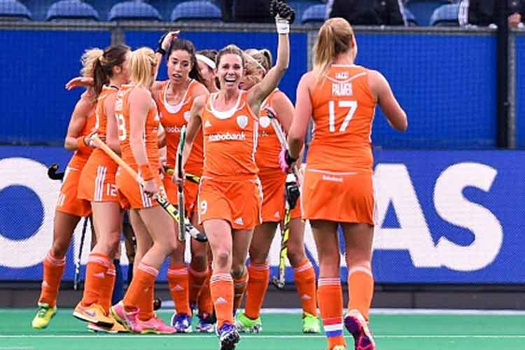 Netherlands thrash India 7-0 in Hockey World League women's quarters