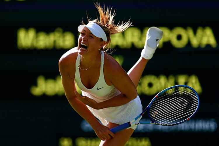 Wimbledon: Maria Sharapova breezes past Johanna Konta in first round