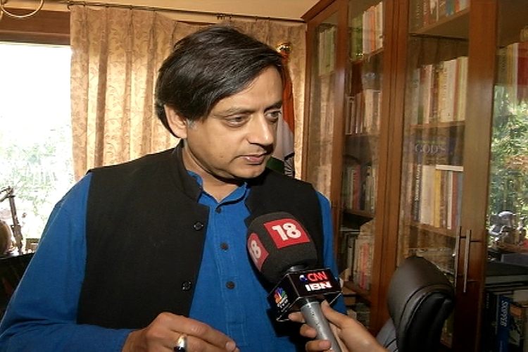 My 'sincere' services to party not appreciated, says Shashi Tharoor