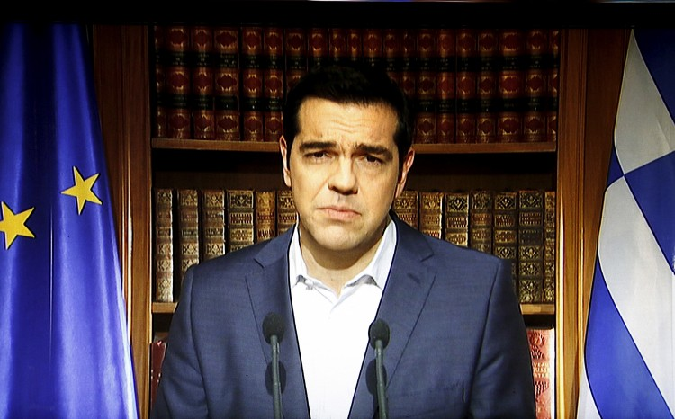 PM Tsipras lashes out at EU, says Greece being blackmailed