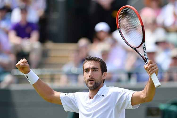 Marin Cilic wins battle of Wimbledon's marathon men