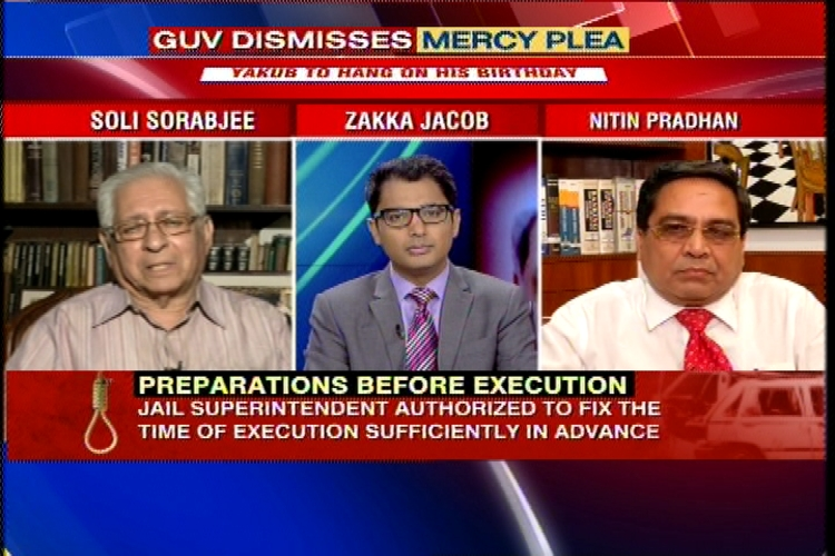 Can jail authorities hang Yakub Memon without waiting for President's decision?