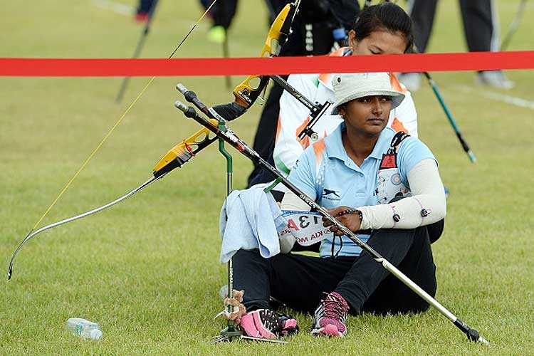 Laxmirani Majhi, Deepika Kumari in last 16 of World archery