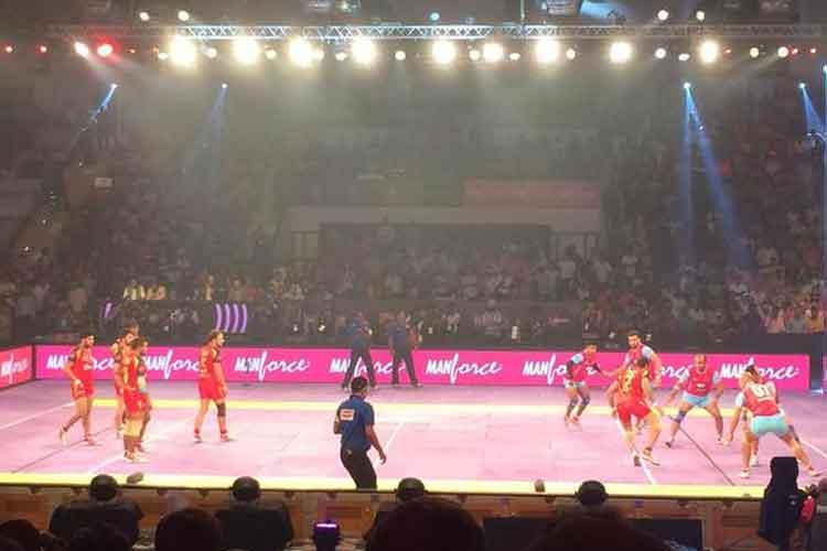 Pink Panthers beat Bengaluru Bulls to keep hopes alive in Pro Kabaddi League