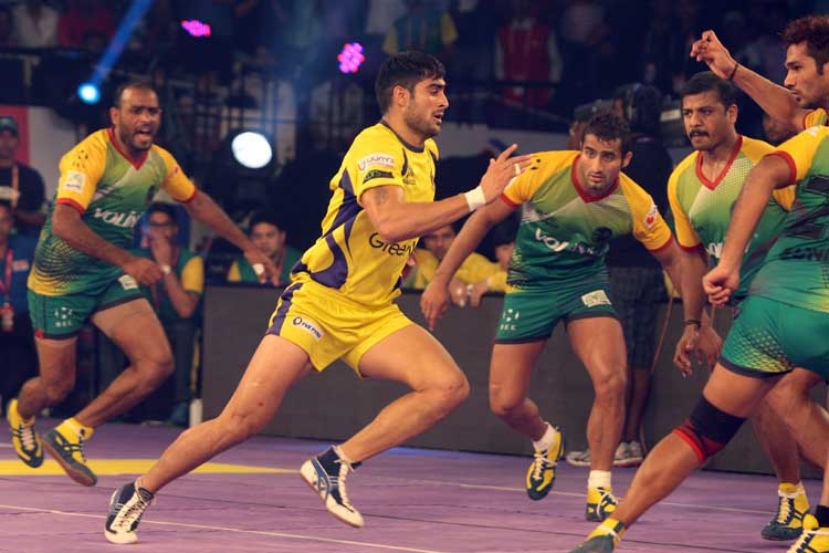 Telugu Titans overpower Patna Pirates in Pro Kabaddi League