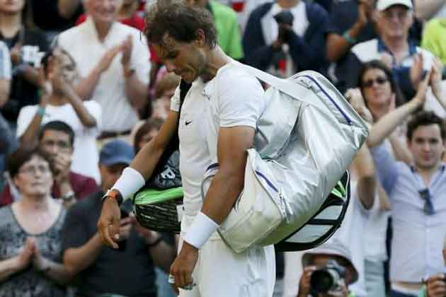 Rafael Nadal unsure if best Wimbledon days are over