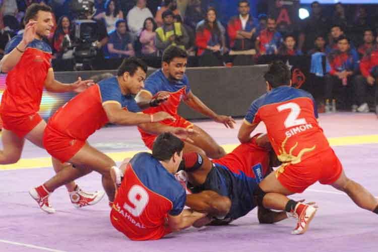 Puneri Paltan start training for Pro Kabaddi League
