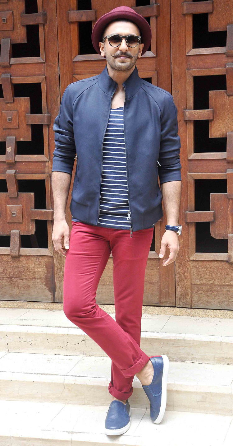 Happy 30th Birthday Ranveer Singh 10 outfits that only he can pull off among the Bollywood men ...
