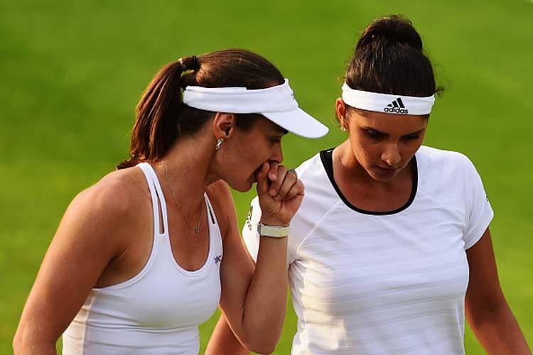 Sania-Hingis cruise to third round at Wimbledon