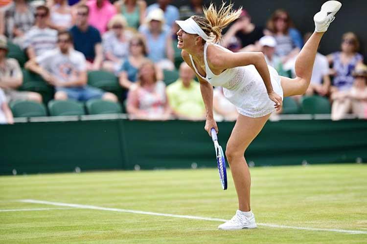 Maria Sharapova beats Irina-Camelia Begu to enter last 16 at Wimbledon