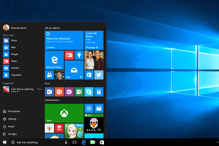 Windows 10 review 5 reasons why you should upgrade to for Latest microsoft windows