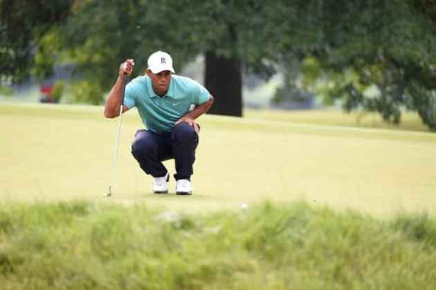 Tiger Woods fires his best round of season at Greenbrier Classic