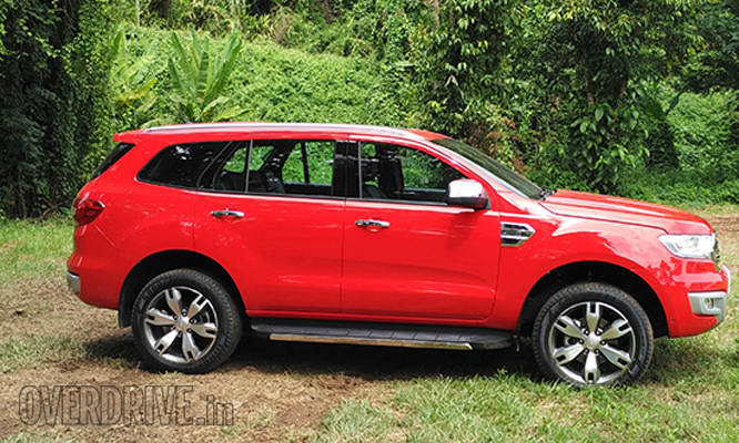 The New Ford Endeavour Jointly Developed By Teams From Australia South America And East Asia Is An All Product Started Off On A Clean Slate