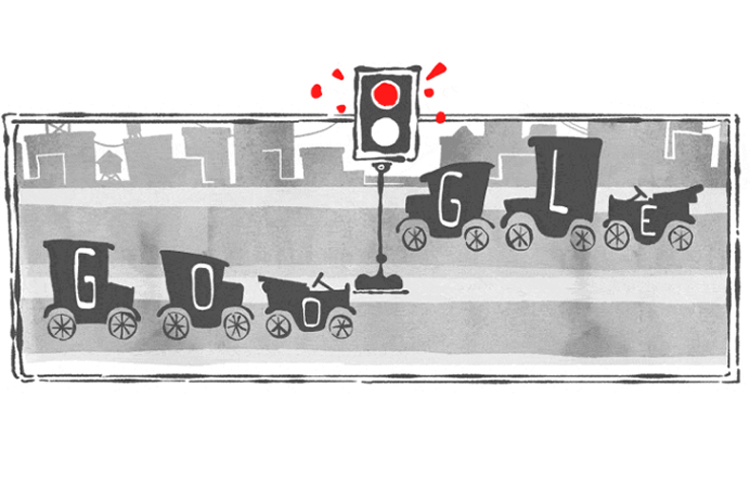 When was the first traffic light installed? August 5, 1914